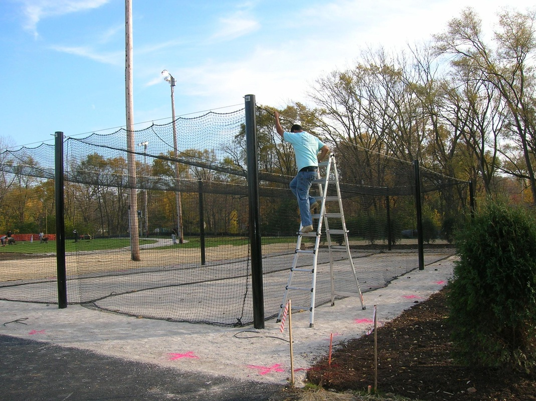 2 Station Batting Cage System
